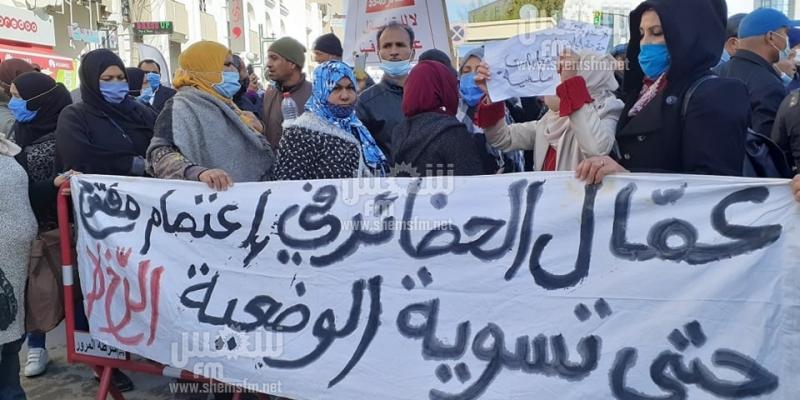 ساحة باردو: السماح للمحتجين بالاقتراب من الشارع الرئيسي