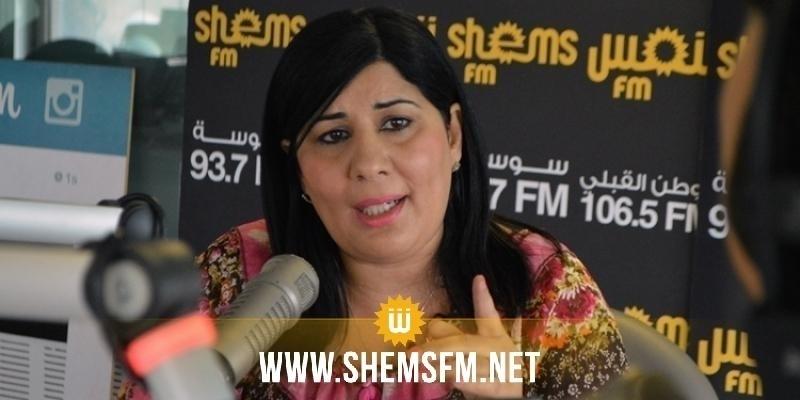 عبير موسي: 'التحوير الوزاري طُبِخ في منزل الغنوشي وكواليس مكتب المشيشي'