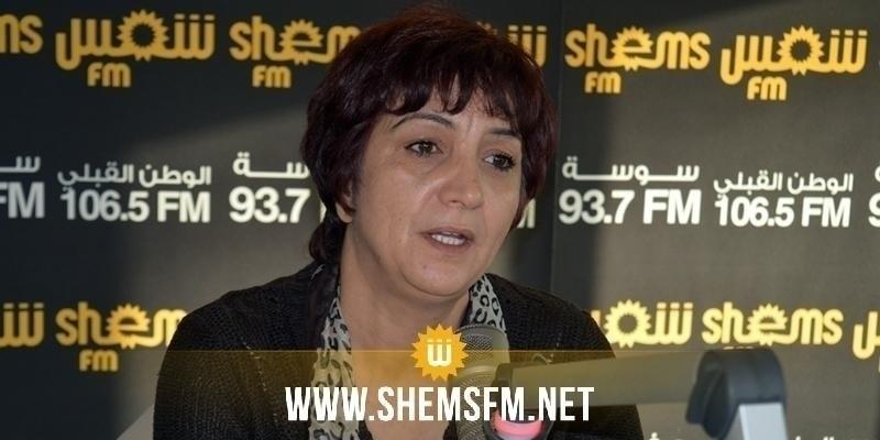 سامية عبو تطالب وزير الداخلية بالتدخل ووقف الاعتداءات الامنية على جنازة هيكل الراشدي بسبيطلة