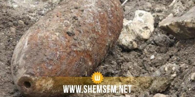 بنزرت: العثور على قنبلة من مخلفات الحرب بمنطقة الشاطئ الجميل