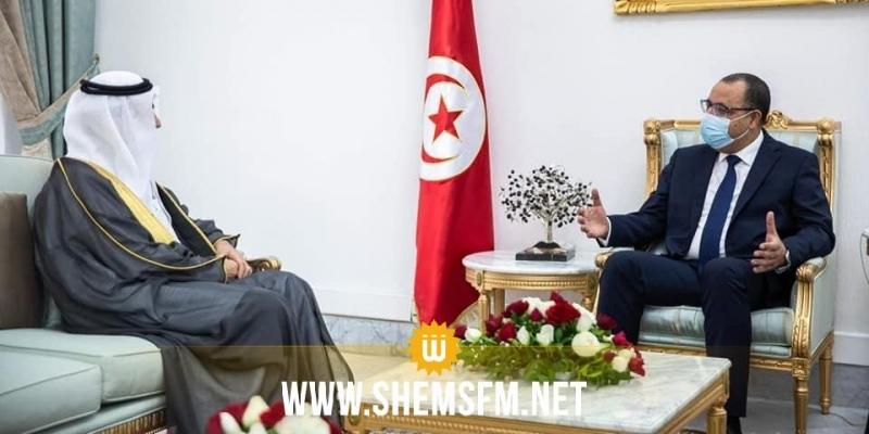 المشيشي يلتقي  السفير الجديد للمملكة العربية السعودية بتونس