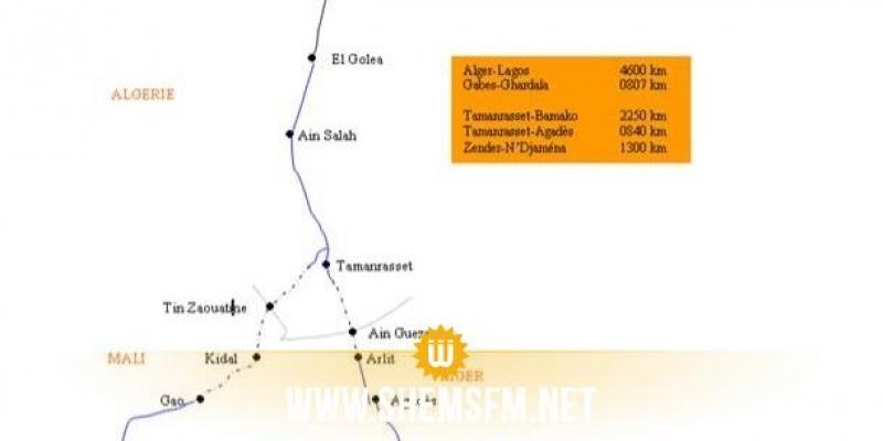 La route transsaharienne reliant six pays africains dont la Tunisie bientôt achevée