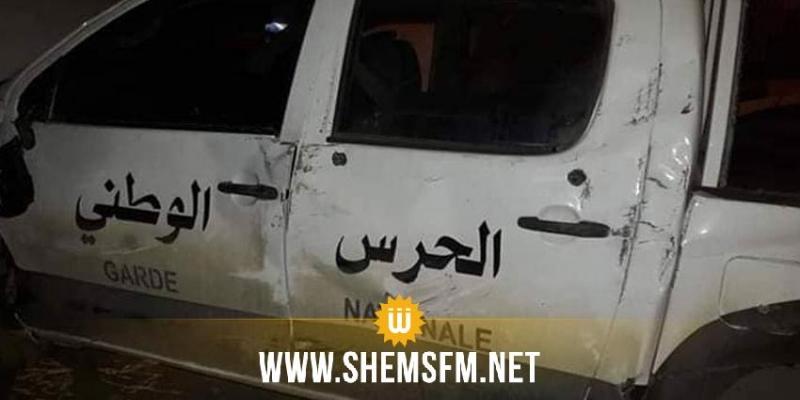 سيدي بوزيد: إصابة عدد من أعوان التدخل إثر انقلاب سيارتهم