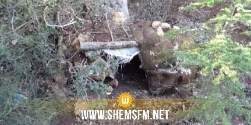 القصرين: الكشف عن مخبأ للعناصر الإرهابيّة بأحد الجبال معدّ لصنع الألغام