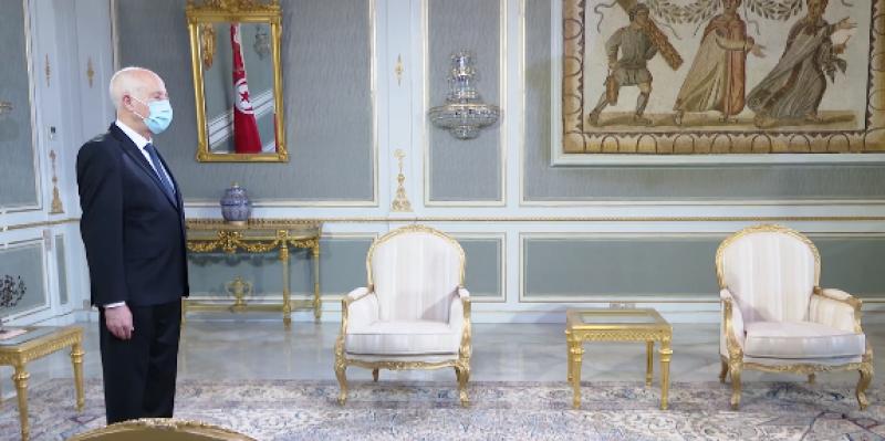 قيس سعيد: ''سنعمل في المرحلة القادمة على تحقيق مطالب التونسيين فالشعب يريد وسيحقق ما يريد''