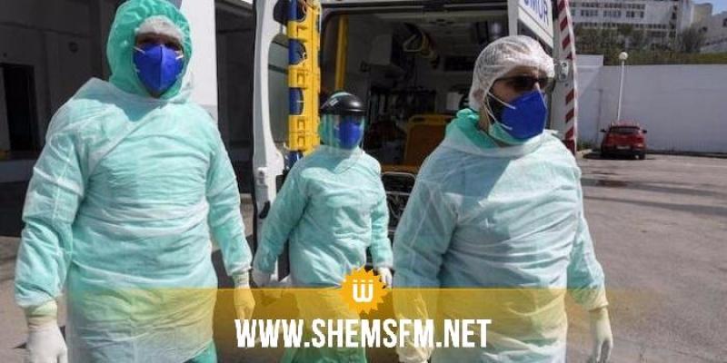 تطاوين : تسجيل حالة وفاة و5  إصابات جديدة بفيروس كورونا
