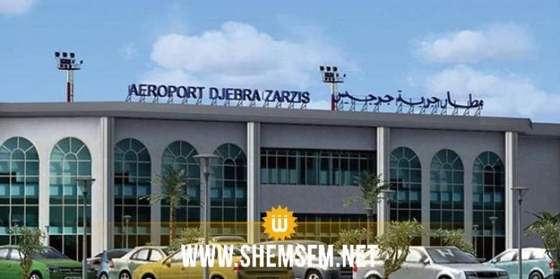 مطار جربة جرجيس: غلق مدرج الطائرات كل يوم اثنين وأربعاء