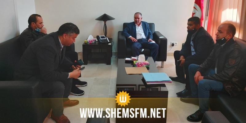 الطبوبي يعبر عن '' تضامن الاتحاد مع  أبناء الديوانة في الدّفاع عن حقوقهم المشروعة ''