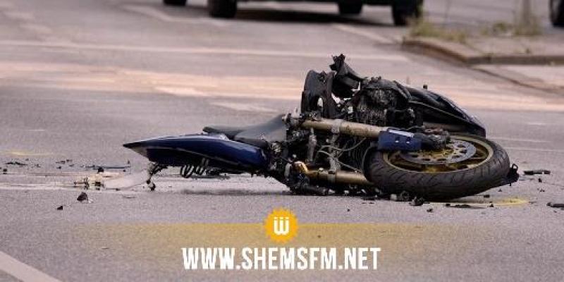 جربة ميدون: وفاة شخصين في حادث اصطدام دراجتين ناريتين