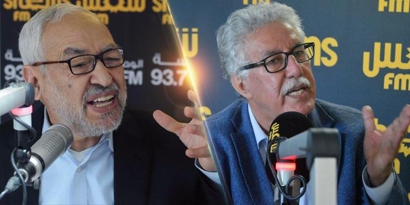 الهمامي للغنوشي: 'لست أخاك ودعوة النهضة لحزب العمال مرفوضة'