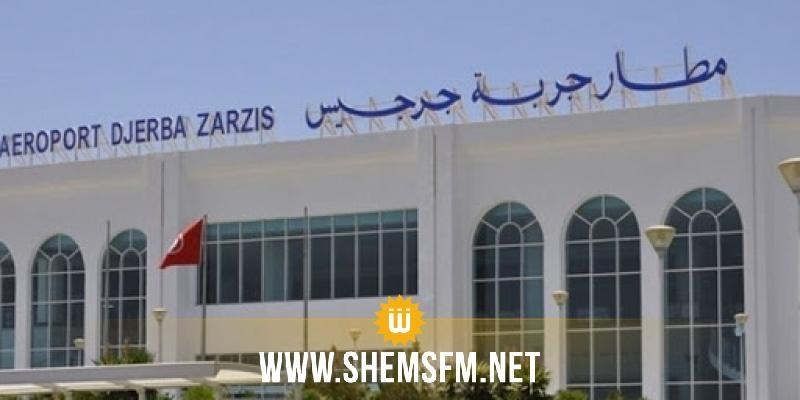مطار جربة جرجيس: انطلاق تفعيل قرار توقف حركة الملاحة الجوية نهارا  يومي الاثنين والأربعاء
