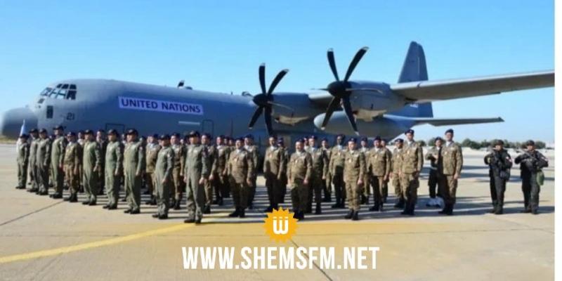 وفد عسكري رفيع المستوى في زيارة إلى الوحدة العسكريّة للنقل الجوّي بمالي