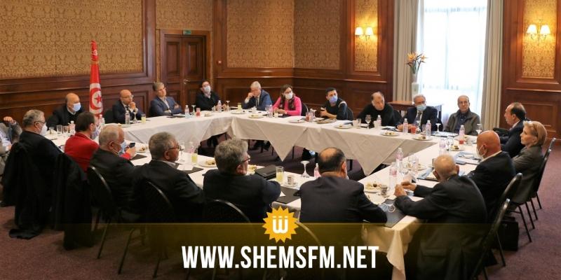بينهم الزبيدي: لقاء بين عدد من الأحزاب والشخصيّات الوطنيّة حول سبل الخروج من الأزمة