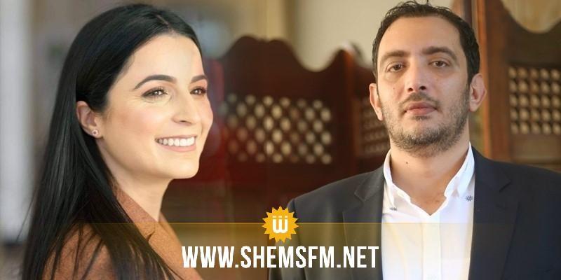 ياسين العياري يرد على ألفة الحامدي: 'كنتِ مُجرّد فقاعة صابون فارغة عيّنتك النهضة لأجل مهمة'