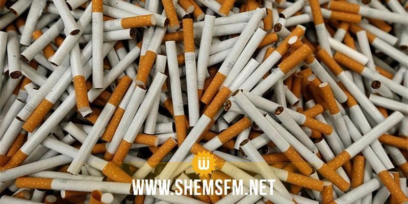 سيدي بوزيد: حجز 18500 علبة سجائر مهربة