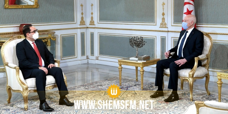 قيس سعيد يلتقي رئيس هيئة مكافحة الفساد