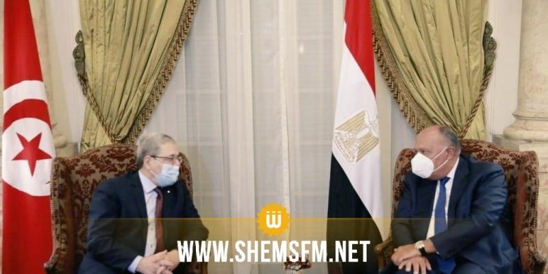 تونس ومصر تبحثان أبرز القضايا الإقليمية والدولية ومنها الأوضاع في ليبيا