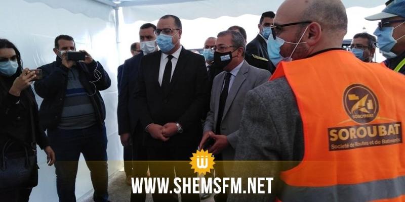 المشيشي: تهيئة مطار جربة جرجيس وربط الجزيرة بالغاز الطبيعي سيكون لهما انعاكاسات كبيرة على القطاعين السياحي والصناعي