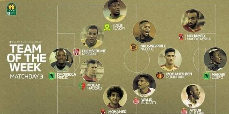 رابطة الأبطال: لاعب الترجي بن رمضان في التشكيلة المثالية للجولة الثالثة