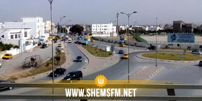 تحوير جزئي في حركة المرور للمترو على مستوى تقاطع شارعي الحبيب بوقطفة و20 مارس