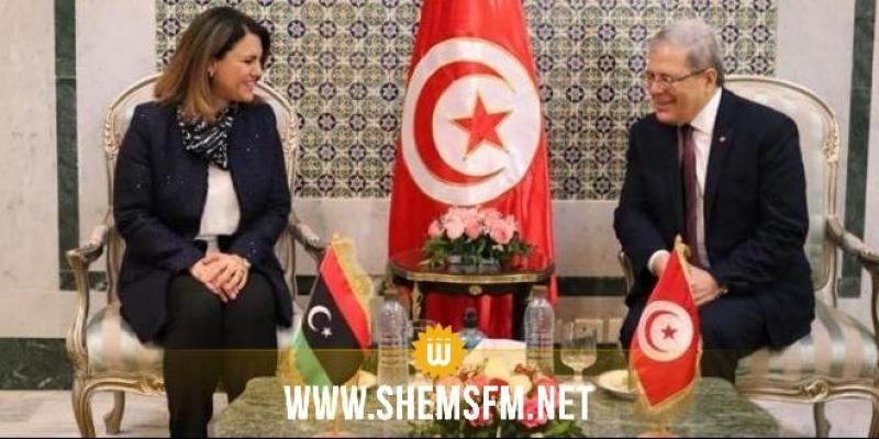الجرندي يلتقي نظيرته الليبية: تأكيد على العلاقات الاستراتيجية بين البلدين وأهمية تطوير الإطار القانوني المنظم للتعاون