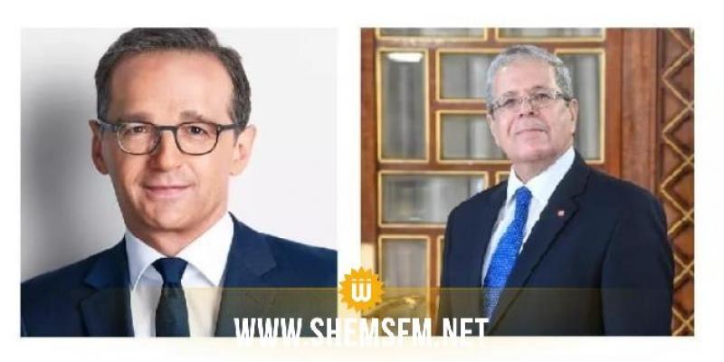 التعاون بين تونس وألمانيا وتطورات الأوضاع في ليبيا أبرز محاور اتصال هاتفي بين وزير الخارجية ونظيره الألماني