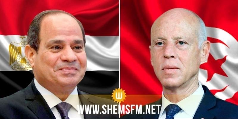 Kais Saied en visite officielle en Egypte