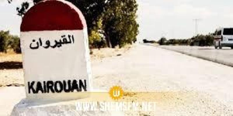 القيروان: احتجاجا على انقطاع  مياه الري أهالي منطقة خيط الوادي يحتجون