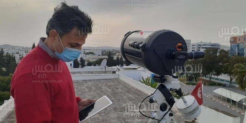 مهندس بمعهد الرصد الجوي: 'من المستحيل رؤية هلال شهر رمضان اليوم'
