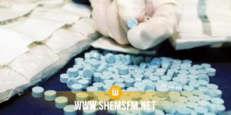 الذهيبة: حجز أكثر من 239 ألف قرص مخدر