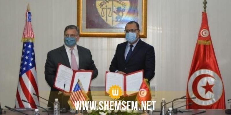 في مجال مكافحة الإرهاب وتأمين الحدود: مذكرة تفاهم بين وزارة الداخلية والسفارة الأمريكية