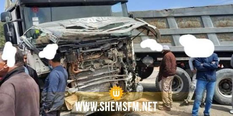 سيدي بوزيد: وفاة عوني حرس ديواني  في حادث مرور