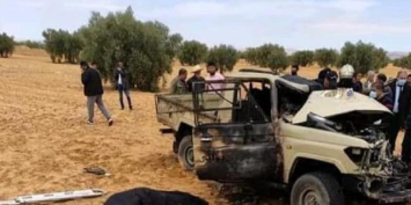سيدي بوزيد: وفاة نقيب ووكيل بالديوانة في حادث مرور