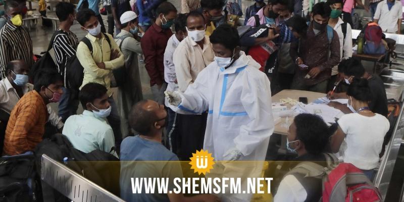 حصيلة يومية مخيفة بإصابات كورونا في الهند