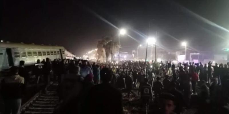 مصر: إصابات في خروج قطار عن السكة