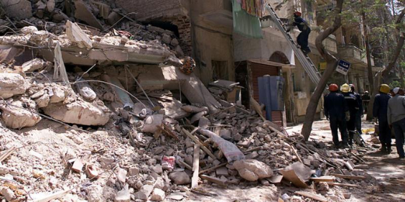 مصر: قتلى وجرحى جراء انهيار مبنى سكني مُكوّن من 5 طوابق