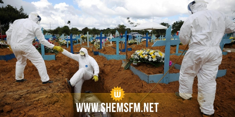 البرازيل تسجل 3459 وفاة و73513 إصابة جديدة بكورونا