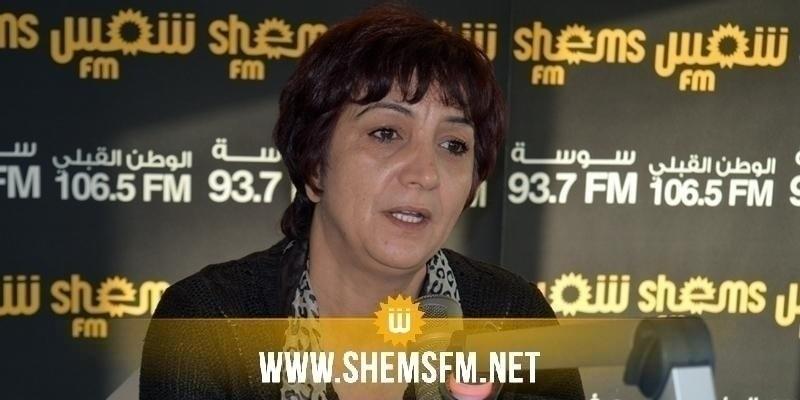 سامية عبو: لائحة سحب الثقة من الغنوشي ينقصها 7 امضاءات