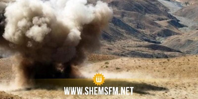 القصرين:  وفاة مواطن في انفجار لغم