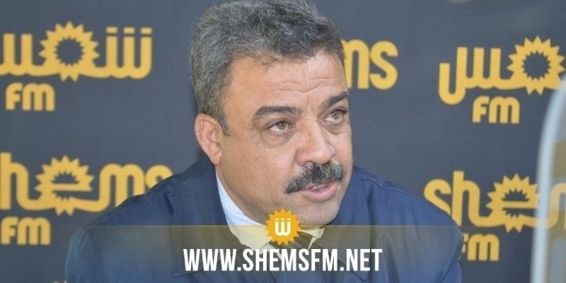 القمودي: 'على رئيس الحكومة أن يأذن بوضع المصحات تحت تصرف وزارة الصحة'