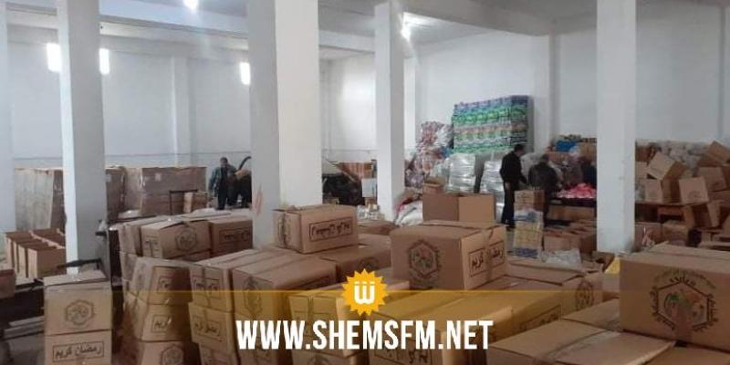 باجة: التضامن الاجتماعي  يخصص1650  مساعدة و8 آلاف طن من المواد الغذائية