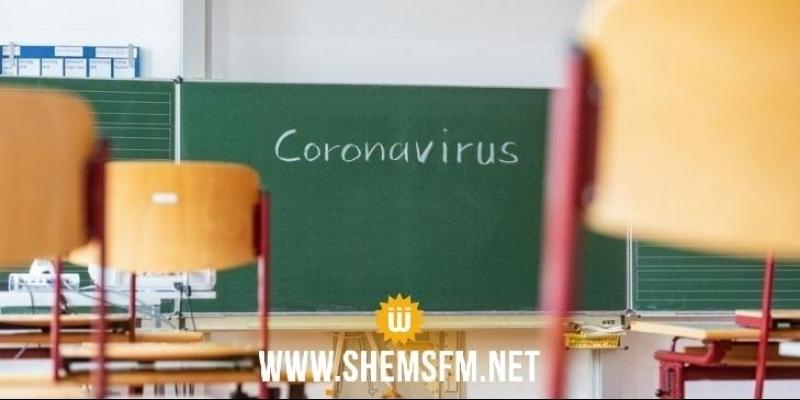 منوبة: تسجيل حالة وفاة و22 إصابة بكورونا في الوسط المدرسي