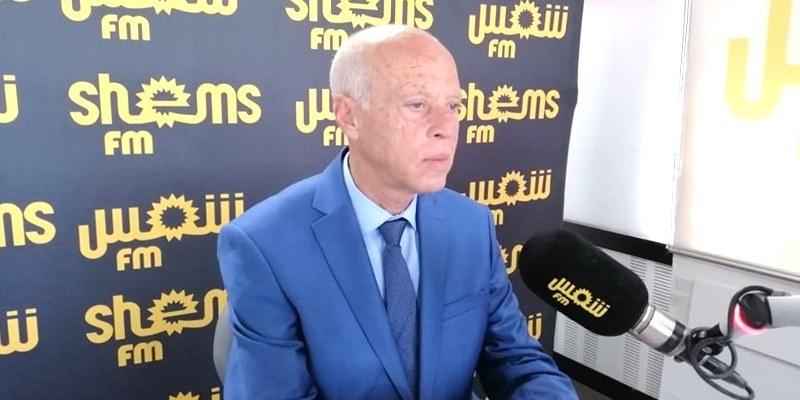 مدير الحملة الإنتخابية لقيس سعيد يقاضي راشد الخياري