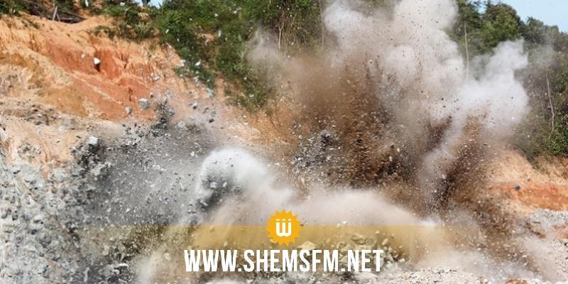 القصرين: إصابة مواطن في انفجار لغم أرضي
