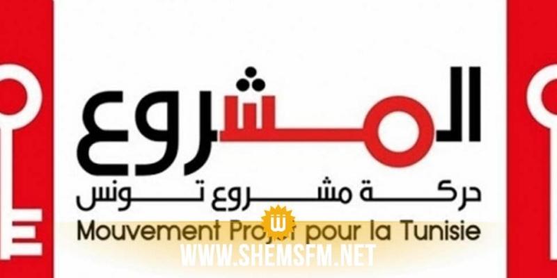 حركة مشروع تونس تدين حملة استهداف رئيس الدولة
