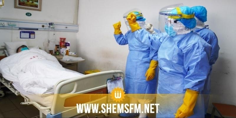كورونا : 2630 مصابا بالفيروس يقيمون بالمستشفيات