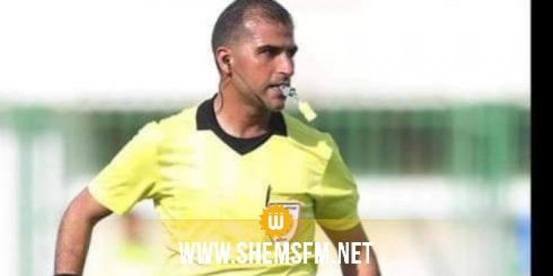 إيقاف الحكم مجدي بلحاج علي عن النشاط لمدة 3 أشهر