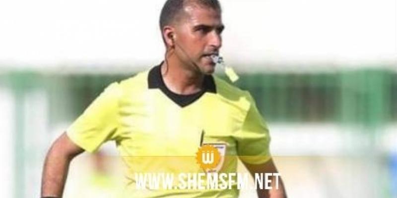 Suspension de l'arbitre Majdi Belhadj pour 3 mois