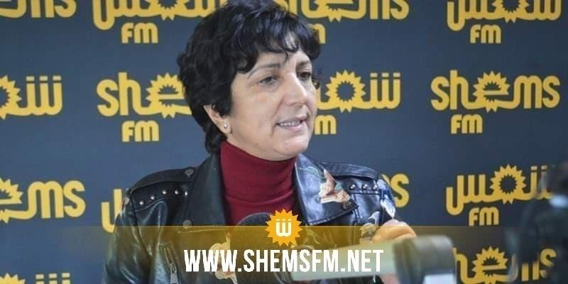 سامية عبو: ''تواصل صعود نفس الأحزاب التي خربت البلاد يعني أن الإنتخابات غير نزيهة''