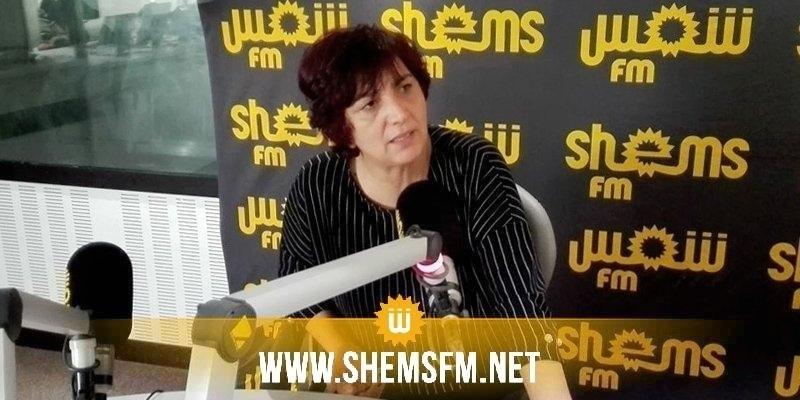 سامية عبو: ''109من النواب يحكمون تونس ونائب انتخب بألفي صوت يحكم في الحكومة بأكملها''